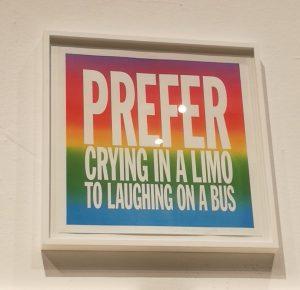 Je préfère pleurer dans une limo à rire dans un bus